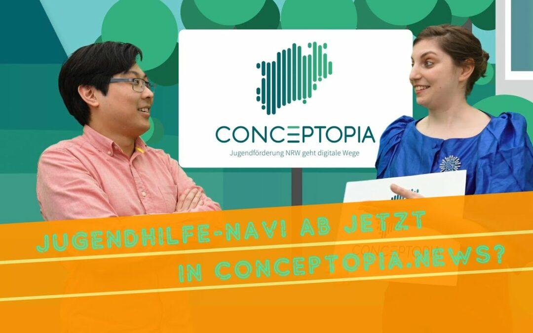 Jugendhilfe-Navi gehört ab jetzt zu CONCEPTOPIA.NEWS